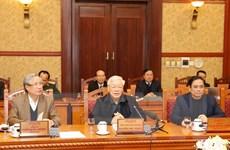 Ban Bí thư họp đánh giá kết quả tổ chức Tết Canh Tý 2020
