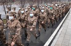 Trung Quốc điều 1.400 nhân viên quân y tới bệnh viện Hỏa Thần Sơn