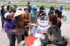 Giám sát sức khỏe gần 100 người Trung Quốc trên tàu cập cảng Quy Nhơn