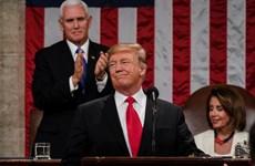 'Sự trở lại của nước Mỹ vĩ đại' trong Thông điệp Liên bang của D.Trump