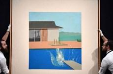 Tác phẩm của danh họa David Hockney đạt mức giá cao kỷ lục