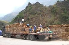 Cửa khẩu quốc tế Thanh Thủy xuất những lô hàng đầu tiên năm 2020