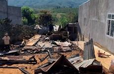 Lâm Đồng: Hỏa hoạn thiêu rụi một ngôi nhà của người nghèo vùng sâu