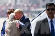 Tổng thống Mỹ Donald Trump bắt đầu chuyến thăm Ấn Độ