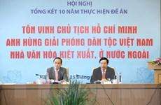 Lan tỏa giá trị tư tưởng Hồ Chí Minh tới nhân dân tiến bộ thế giới