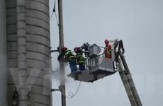 BSR làm chủ công nghệ lắp cùm cơ khí và bơm keo làm kín đường ống