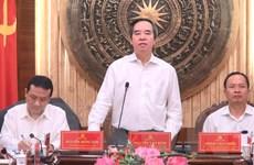 Trưởng ban Kinh tế Trung ương: Tạo đột phá cho Thanh Hóa phát triển