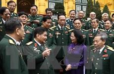 Phó Chủ tịch nước gặp mặt Đoàn Ban liên lạc Cựu chiến binh 304