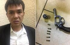 20 năm tù cho đối tượng dùng súng cướp 500 triệu tại chợ Long Biên