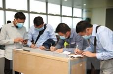 Hành khách nhập cảnh qua cửa khẩu Nội Bài được kiểm dịch chặt chẽ