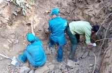 Phát hiện 300kg vũ khí, vật liệu nổ ở khu vực di tích Hầm Đờ Cát