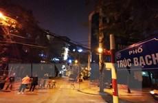 Hà Nội: Đáp ứng đầy đủ nhu yếu phẩm cho người dân phố Trúc Bạch