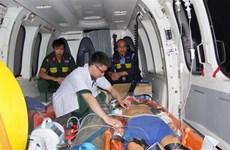 Bệnh xá đảo Sơn Ca cứu chữa kịp thời hai ngư dân bị nạn trên biển