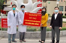 Sát cánh cùng Bệnh viện Bạch Mai chiến thắng dịch COVID-19