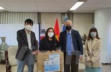 Món quà ý nghĩa tặng cộng đồng người Việt tại Hàn Quốc giữa mùa dịch