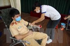 Công an tỉnh Đắk Nông hiến hơn 200 đơn vị máu an toàn