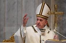 Giáo hoàng Francis kêu gọi bảo vệ phụ nữ trong giai đoạn phong tỏa