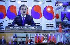 Tổng thống Hàn Quốc cam kết ủng hộ ASEAN ứng phó với đại dịch COVID-19