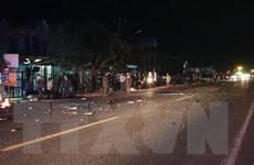 Gia Lai: Xe máy va chạm làm 2 người tử vong, 1 người bị thương nặng