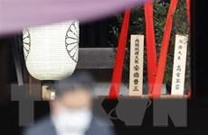 Các nước phản ứng về việc Thủ tướng Nhật gửi đồ lễ đến đền Yasukuni