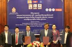 Viettel Cambodia sát cánh cùng chính phủ Campuchia chống dịch COVID-19