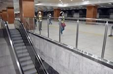 Cơ bản hoàn thiện tầng B1 ga Nhà hát TP.HCM thuộc dự án metro số 1