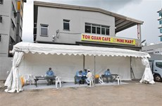 Singapore dựng bệnh viện dã chiến tại các trung tâm triển lãm