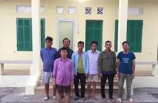 Bình Thuận: Chìm tàu chở hàng tại Cảng quốc tế Vĩnh Tân