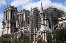 Pháp xúc tiến nối lại hoạt động phục dựng Nhà thờ Đức Bà