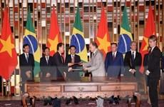 [Photo] Tăng cường quan hệ Đối tác toàn diện Việt Nam-Brazil