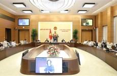 Trong các ngày 8, 15 và 16/5, diễn ra Phiên họp thứ 45 của UBTVQH