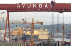 Hàn Quốc đóng tàu biển chạy bằng khí tự nhiên hóa lỏng