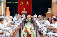 Góp ý dự thảo văn kiện Đại hội Đảng bộ tỉnh Vĩnh Long lần thứ XI
