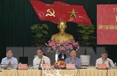 Góp ý dự thảo Báo cáo chính trị Ban Chấp hành Đảng bộ tỉnh Khánh Hòa