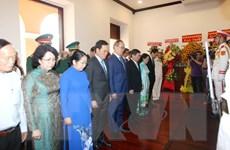 Thành phố Hồ Chí Minh dâng hương tưởng niệm Chủ tịch Hồ Chí Minh