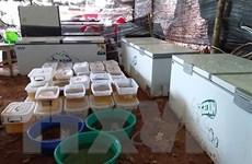 Myanmar thu giữ lượng ma túy tổng hợp lớn nhất khu vực Đông Nam Á