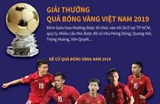[Infographics] Giải thưởng Quả bóng Vàng Việt Nam 2019