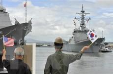 Hàn-Mỹ thúc đẩy họp trực tuyến cấp bộ trưởng quốc phòng