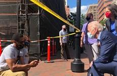 Mỹ: Ứng cử viên tổng thống Joe Biden thăm địa điểm biểu tình