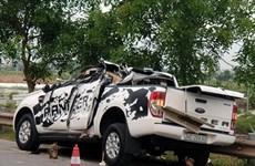 Hải Dương: Hai ôtô va chạm vào nhau khiến hai người thiệt mạng