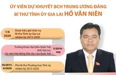 Quá trình công tác của tân Bí thư Tỉnh ủy Gia Lai Hồ Văn Niên