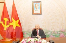 Tổng Bí thư, Chủ tịch nước điện đàm với Tổng thống Nga Vladimir Putin