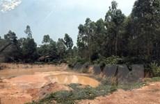 Phú Thọ: Cần làm rõ việc phá đồi khai thác đất ở Thanh Thủy