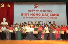 Đà Nẵng, Hải Phòng tôn vinh những người hiến máu tình nguyện