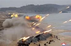 """KCNA: Quân đội Triều Tiên """"sẵn sàng"""" hành động chống Hàn Quốc"""