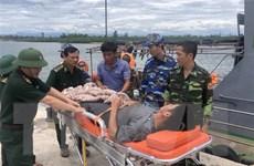 Quảng Trị: Kịp thời đưa thuyền viên bị viêm ruột thừa vào bờ điều trị