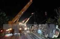 Khởi tố, lái xe gây tai nạn trong vụ xe container đè bẹp limousine