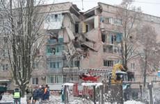 Ukraine: Nổ khí gas tại một chung cư ở Kiev, nhiều người bị mắc kẹt