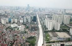 Hình ảnh dự án mở rộng đường vành đai 3 nhìn từ trên cao