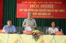 Yên Bái: Thường trực Ban Bí thư tiếp xúc cử tri huyện Trấn Yên
